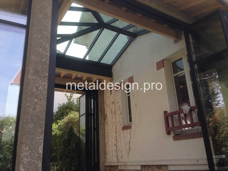 Prix Baie Vitree Sur Mesure En Acier Style Atelier Pres De Pertuis 84 Metal Design